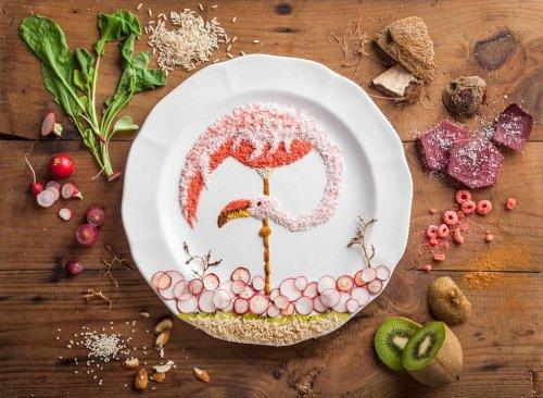 Кулинарные картины Анны Кевилл Джойс (12 фото)