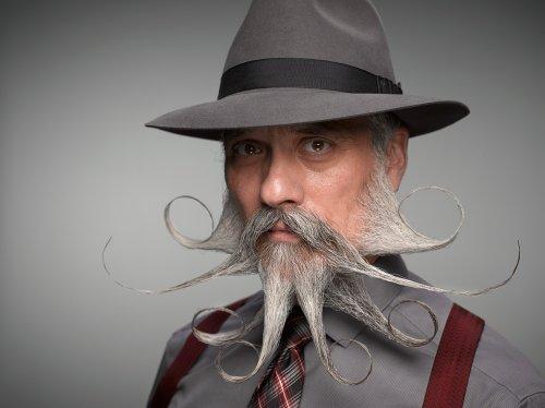 Самые импозантные участники конкурса усачей и бородачей, прошедшего в Нэшвилле (16 фото)