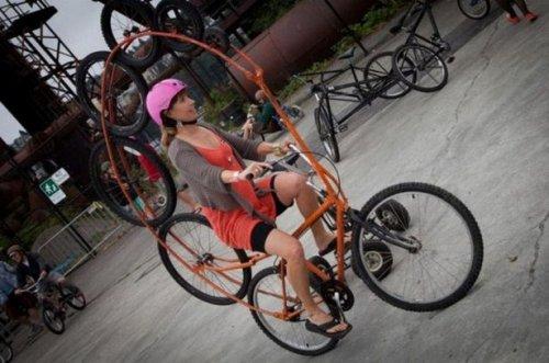 Велосипеды, какими вы их ещё не видели (18 фото)