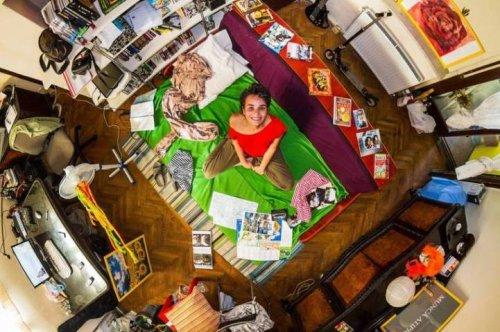 Комнаты мира в фотопроекте Джона Тэкврея (17 фото)