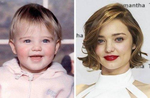 Детские фотографии знаменитых топ-моделей (12 фото)