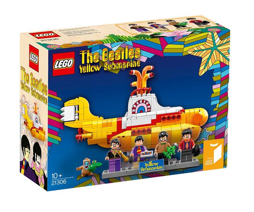 желтая подводная лодка лего купить