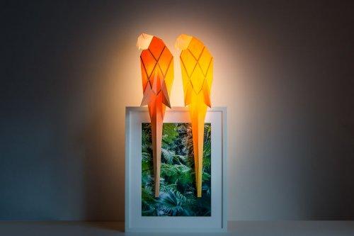 Оригинальные оригами-лампы в виде животных (13 фото)
