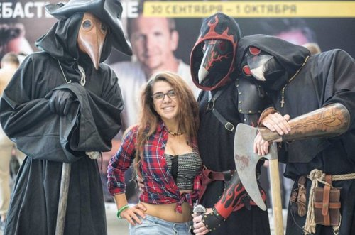 Косплей участников Comic Con Russia 2016 (26 фото)