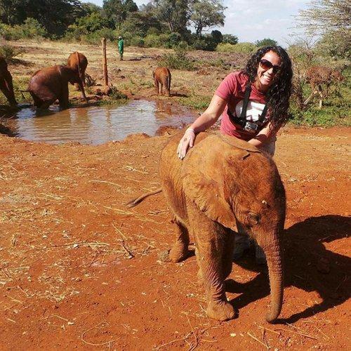 Очаровательная дружба слонёнка Джотто и страуса Пи (6 фото)