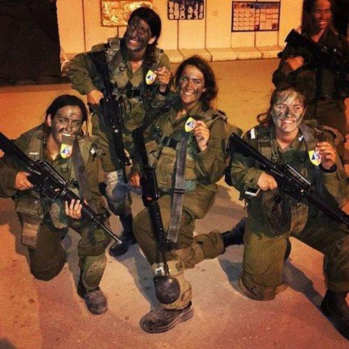 Девушки израильской армии (25 фото)