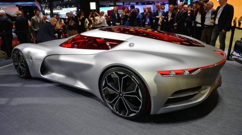 Концепт мощного электромобиля Renault Trezor (12 фото)