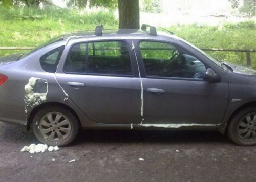 Автомобили, которым приходится отдуваться за своих владельцев (18 фото)
