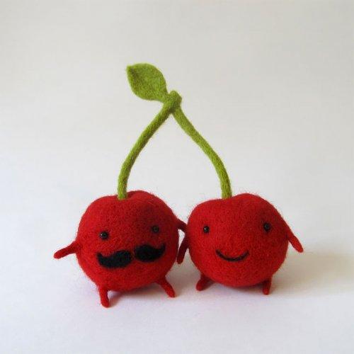 Войлочные игрушки Анны Довгань (7 фото)