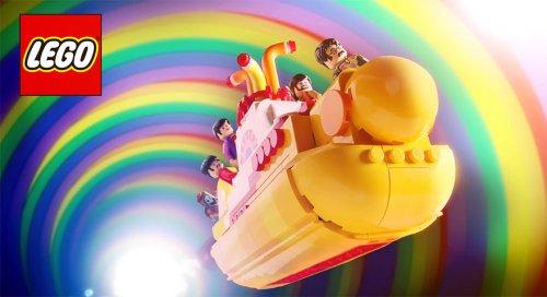 "Набор LEGO ""Yellow Submarine"", посвящённый битлам (5 фото + видео)"