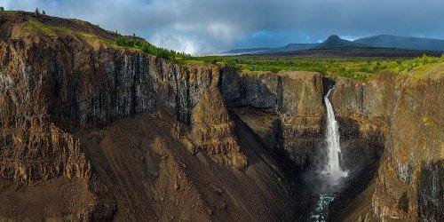 Тальниковый водопад: самый красивый и высокий водопад в России (19 фото)