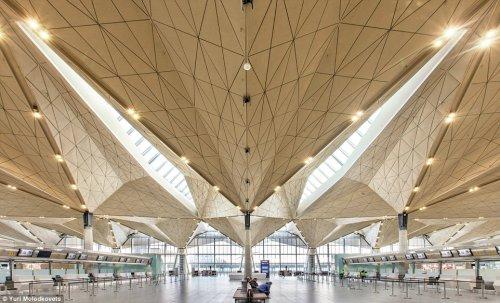 Аэропорты-шедевры (9 фото)