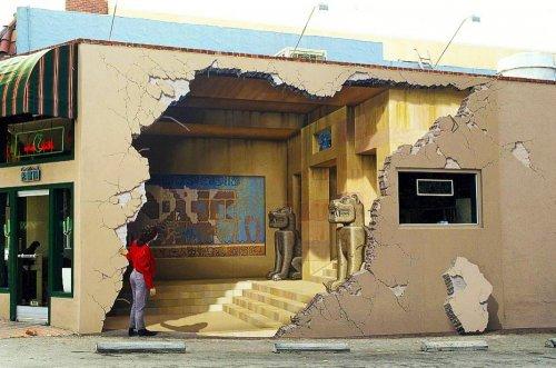 Впечатляющий стрит-арт со всего света (20 фото)