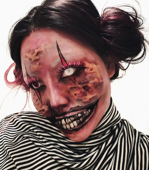 Невероятные иллюзии на лице от Мими Чой (26 фото)