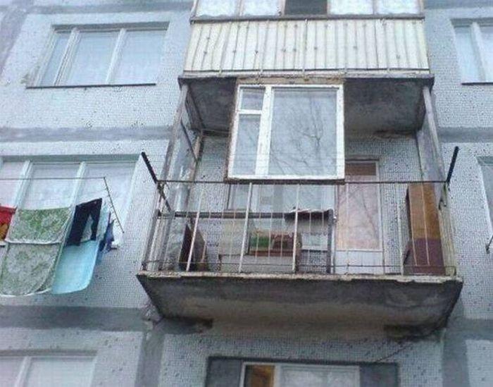 картинки про балконы прикольные чем больше