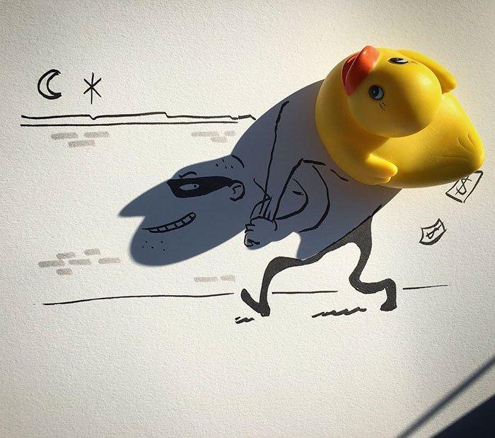 Картинки по запросу Бельгиец создает удивительные фотографии с помощью тени