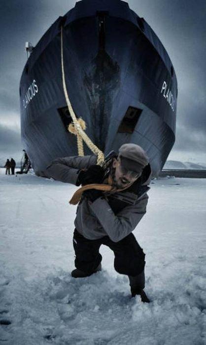 Прикольные лодки и их пассажиры (36 фото)