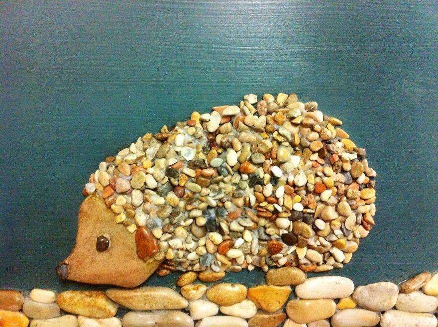 Поделки из камней гладких 28