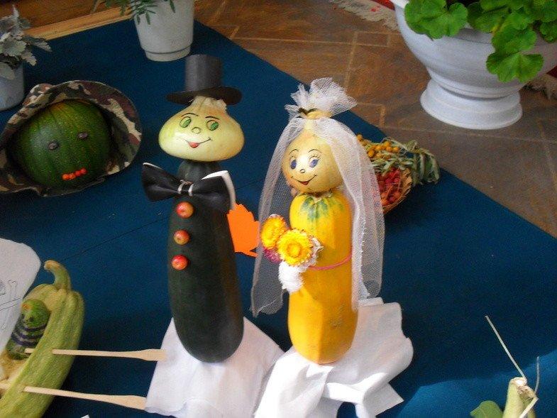 Фото поделки из овощей своими руками