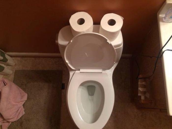 Поздравлениями, приколы картинки с туалетом