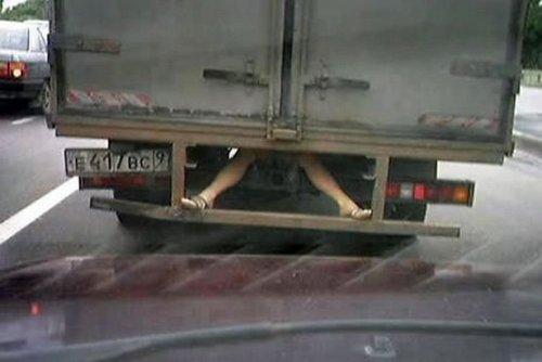Приколы на дорогах (17 фото)