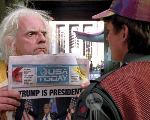 Реакция Интернета на победу Трампа на выборах в США (24 фото)