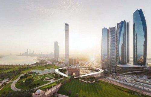 В ОАЭ создадут инновационную скоростную транспортную систему Hyperloop One (8 фото + видео)