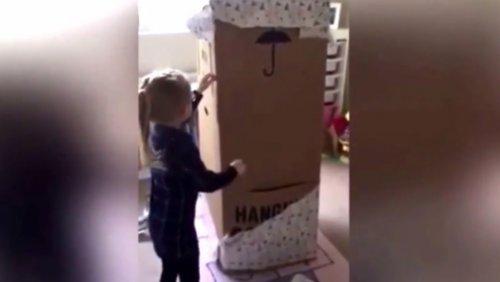 Девочка получила на день рождения самый лучший подарок