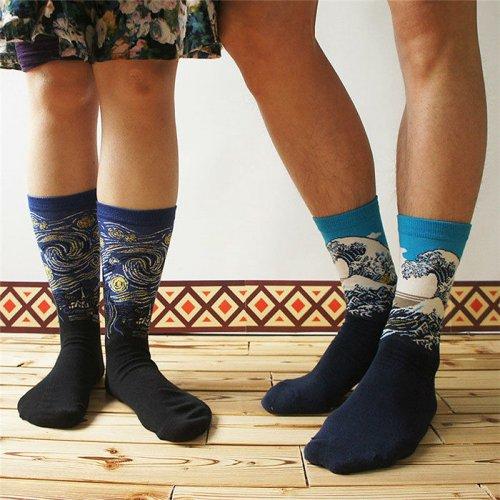 Художественные носки для настоящих ценителей искусства (27 фото)