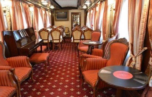 Самые роскошные поезда, курсирующие по земному шару (18 фото)