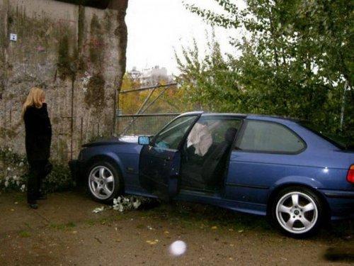 Когда за руль садится женщина (32 фото)