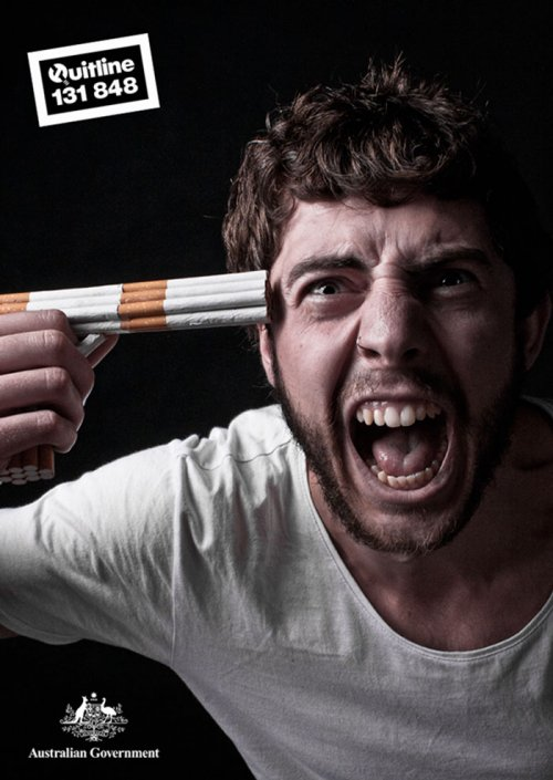 Яркие примеры мощной антитабачной рекламы (33 фото)