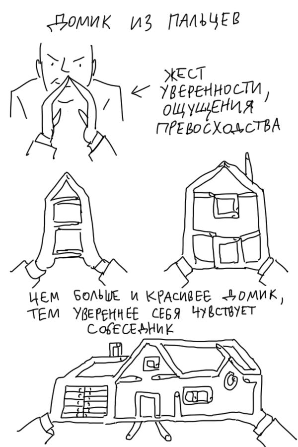 Язык тела в иллюстрациях от Duran (5 шт) | 900x600