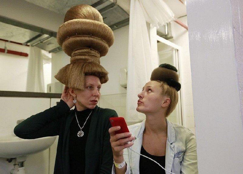используется привязной парикмахерши необычные фото инете