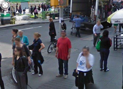 Всё самое странное и прикольное с Google Street View (27 фото)