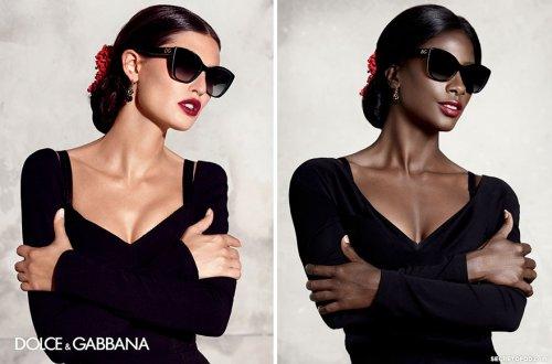 """Темнокожая модель воссоздала знаменитые рекламные кампании модных брендов в проекте """"Чёрное зеркало"""" (9 фото)"""