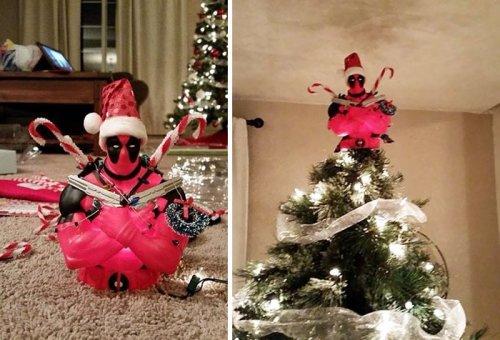 Креативные верхушки для новогодней ёлки (27 фото)