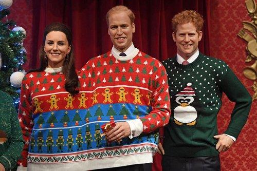 Британская королевская семья в нелепых рождественских свитерах (5 фото)