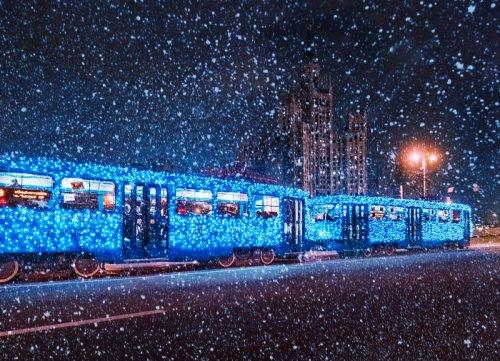 Предновогодняя Москва в фотографиях Кристины Макеевой (33 фото)