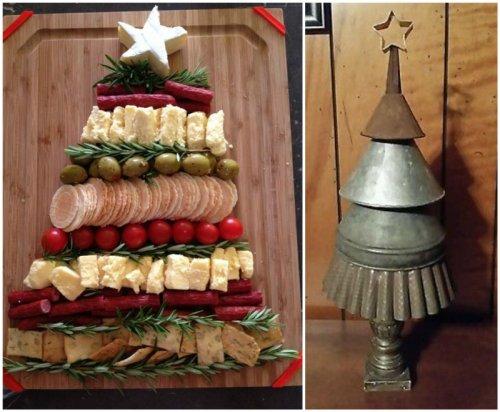 Идеи новогодних елок своими руками из подручных материалов