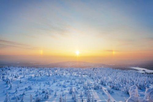 Волшебная красота Лапландии (22 фото)