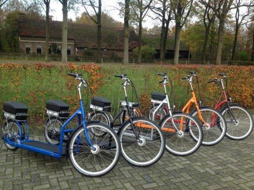 На этом велосипеде с беговой дорожкой можно ездить на работу пешком (3 фото + 2 видео)