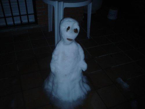 Снеговики-страшилки (13 фото)