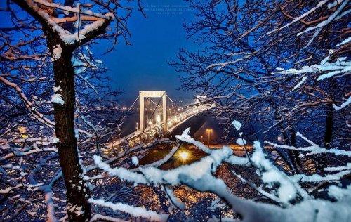 Рождественский Будапешт в фотографиях Рижави Тамаша (28 фото)