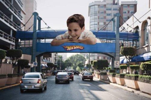 Когда реклама превращается в искусство (14 фото)