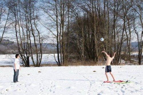 Люди, которые умеют наслаждаться зимой (35 фото)