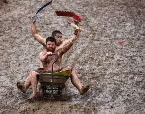 Бородачи тоже умеют веселиться (29 фото)