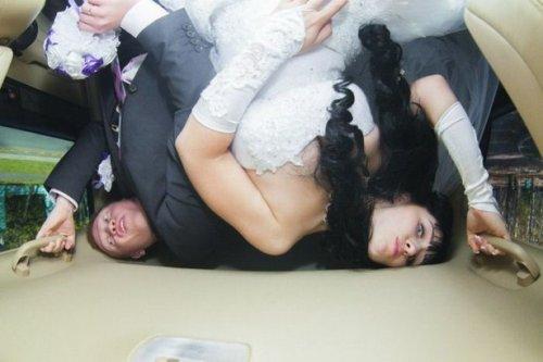 Свадебные фотоприколы (21 шт)