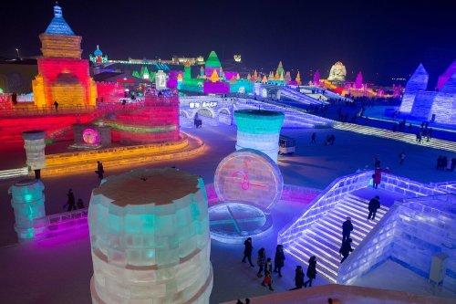 Фестиваль льда и снега в Харбине, Китай