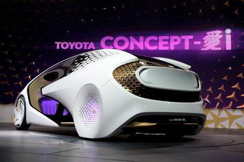 Концепт-кар Toyota Concept-i